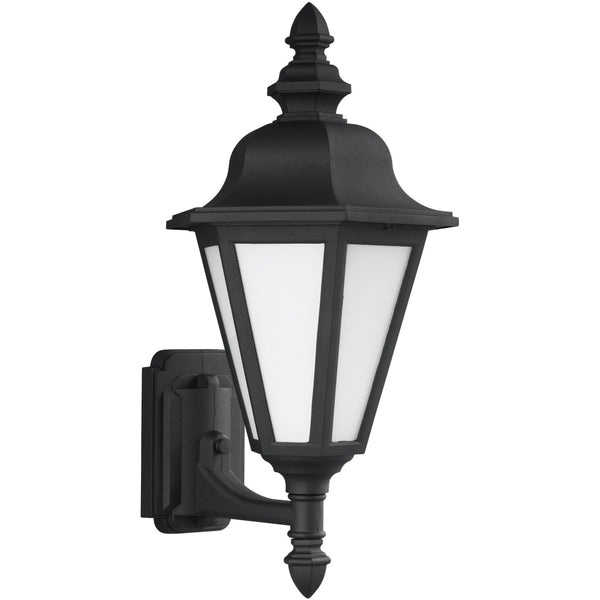 Brentwood Black LED Outdoor Wall Lantern - Outdoor Wall Sconce
