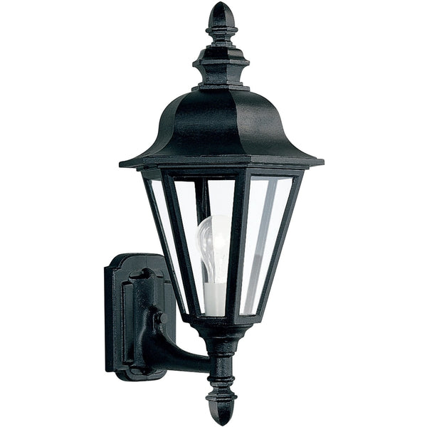 Brentwood Black Outdoor Wall Lantern - Outdoor Wall Sconce