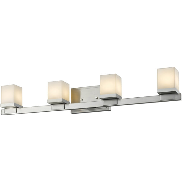 Cadiz Brushed Nickel LED Vanity - Bath & Vanity
