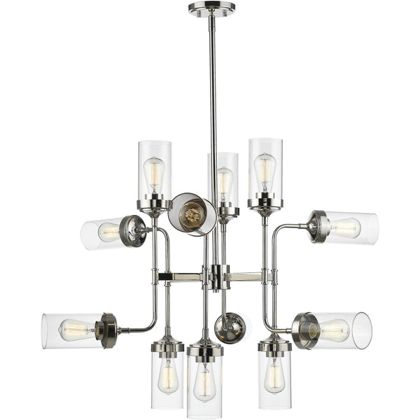 Calliope Polished Nickel Pendant - Pendants