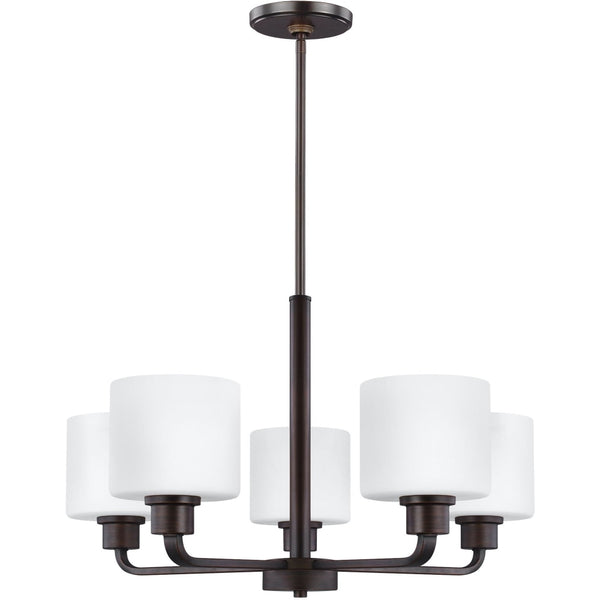 Canfield Burnt Sienna LED Chandelier - Chandeliers