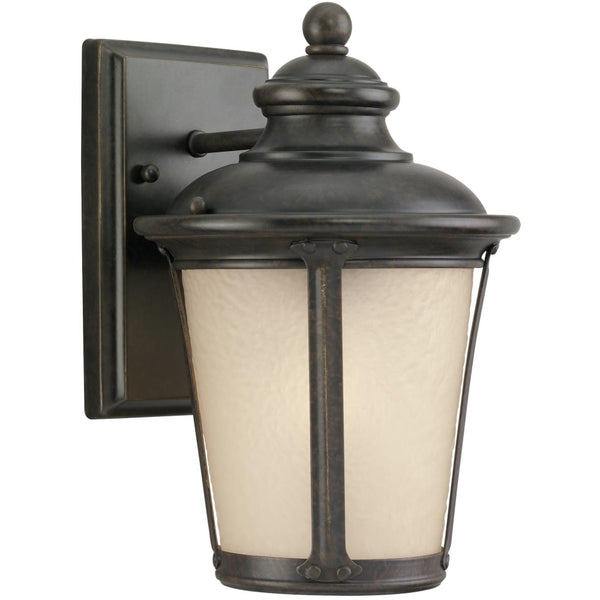 Cape May Burled Iron LED Outdoor Wall Lantern - Outdoor Wall Sconce
