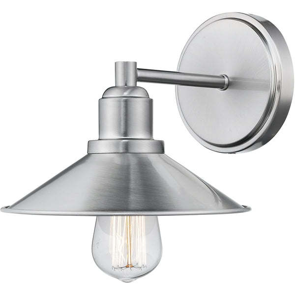 Casa Brushed Nickel Wall Sconce - Wall Sconces