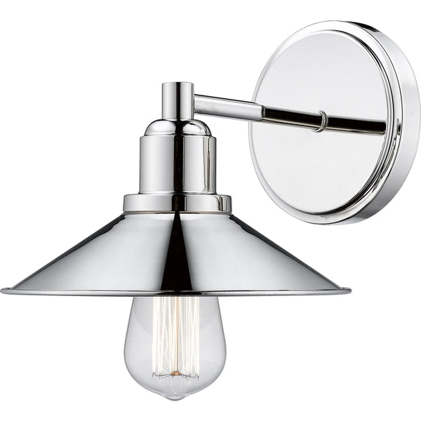 Casa Polished Nickel Wall Sconce - Wall Sconces