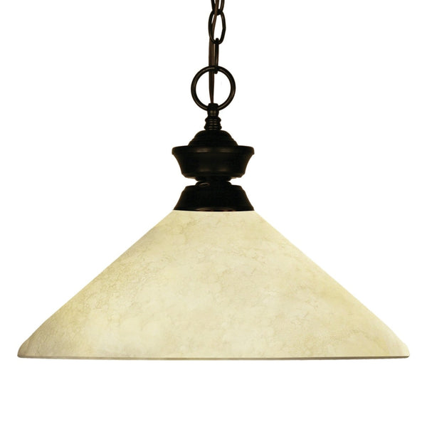 Chance Bourbon Bronze Pendant - Pendants