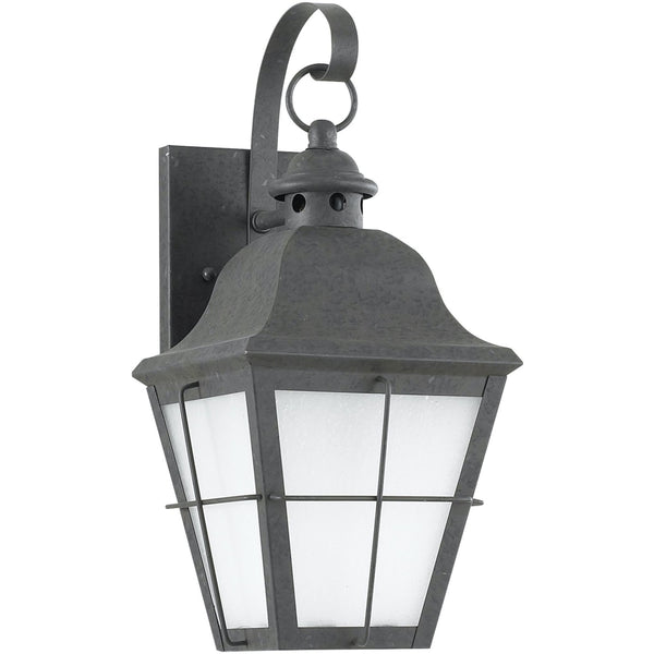 Chatham Oxidized Bronze LED Outdoor Wall Lantern - Outdoor Wall Sconce