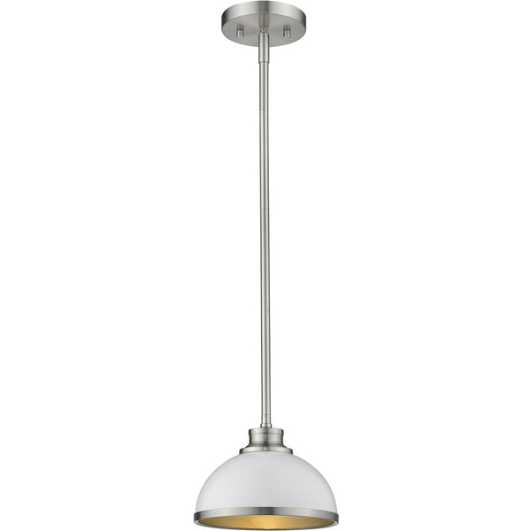 Citadel Brushed Nickel Mini-Pendant - Mini-Pendants