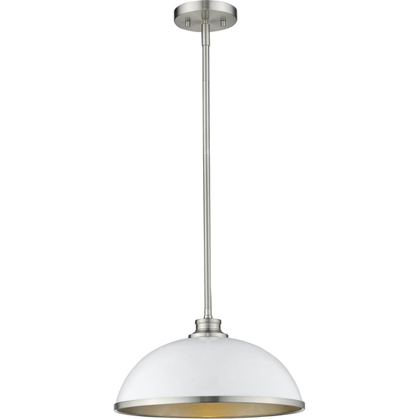 Citadel Brushed Nickel Pendant - Pendants