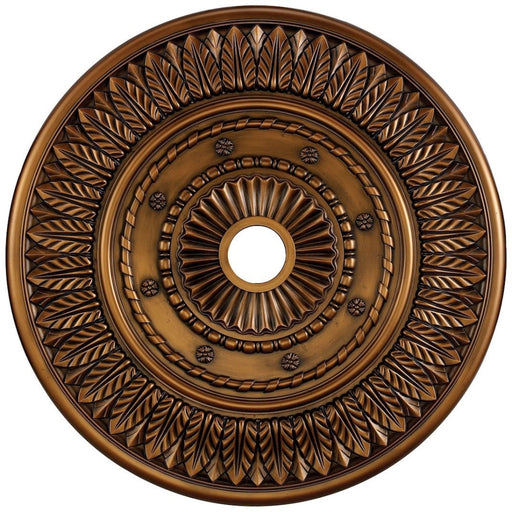 Corinna Antique Bronze Medallion - Medallion