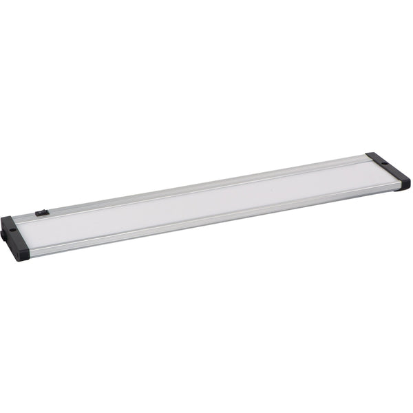 CounterMax MX-L120-EL Brushed Aluminum LED Under Cabinet - Under Cabinet