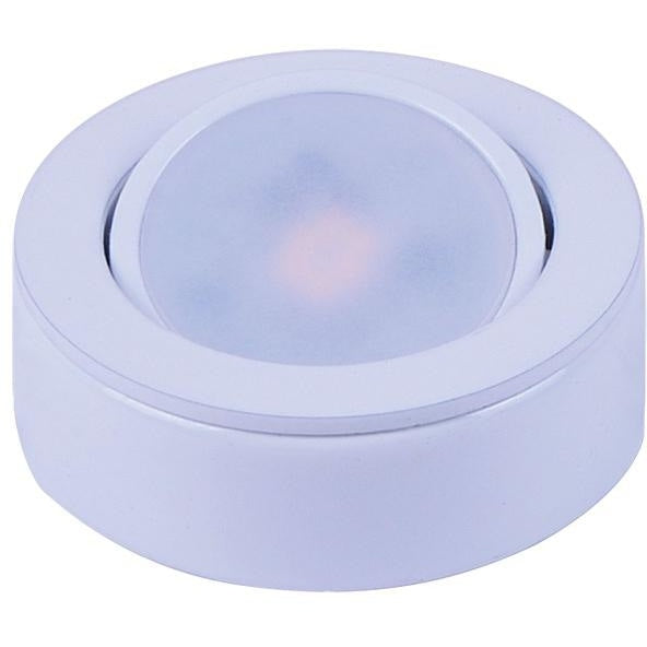 CounterMax MX-LD-AC White LED Under Cabinet Disc - Under Cabinet Disc