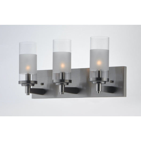 Crescendo Satin Nickel Wall Sconce - Wall Sconce