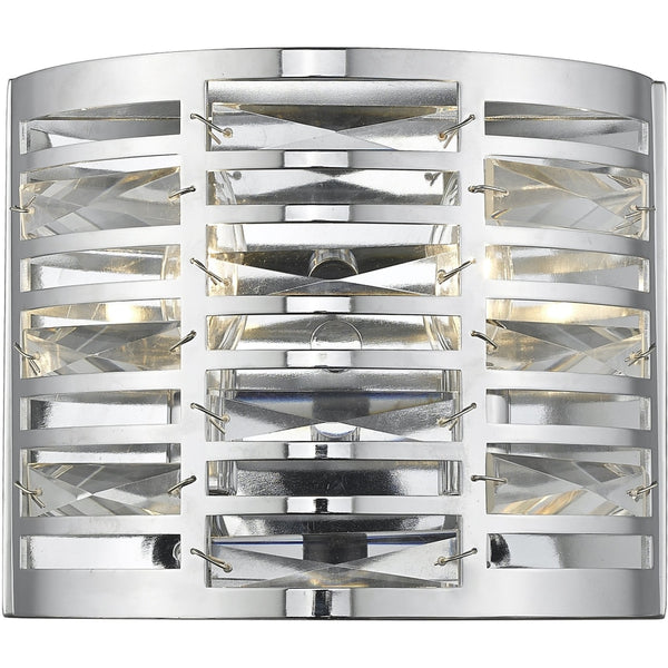 Cronise Chrome Wall Sconce - Wall Sconces