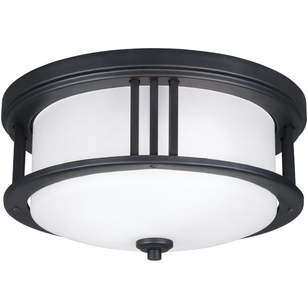 Crowell Black Outdoor Flush Mount - Outdoor Flush Mounts