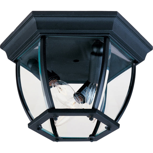 Crown Hill Black Outdoor Flush Mount - Outdoor Flush Mount