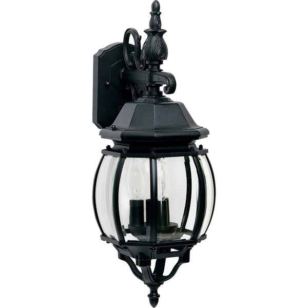 Crown Hill Black Outdoor Wall Mount - Outdoor Wall Mount
