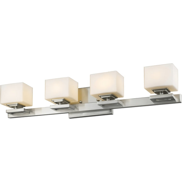 Cuvier Brushed Nickel LED Vanity - Bath & Vanity