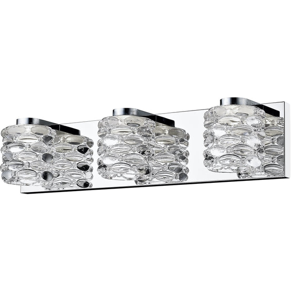 Dawson Chrome LED Vanity - Bath & Vanity