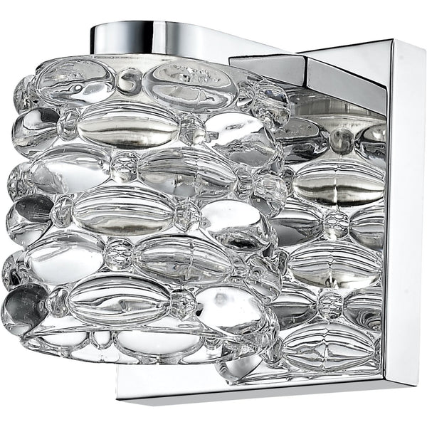 Dawson Chrome LED Wall Sconce - Wall Sconces