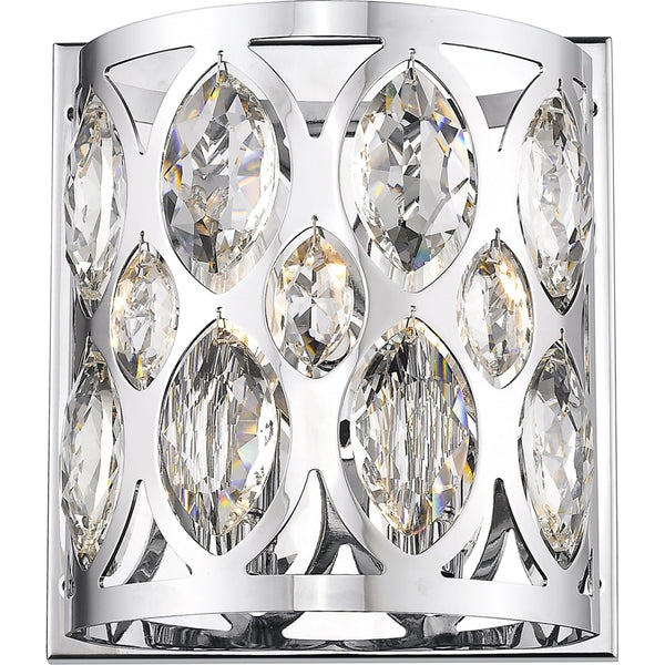 Dealey Chrome Wall Sconce - Wall Sconces