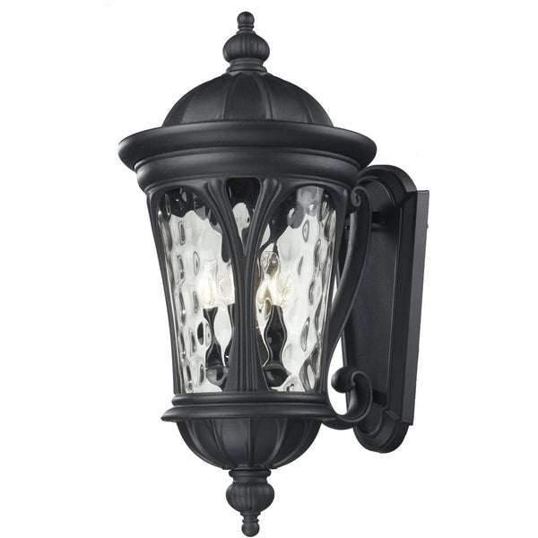 Doma Black Outdoor Wall Sconce - Outdoor Wall Sconce