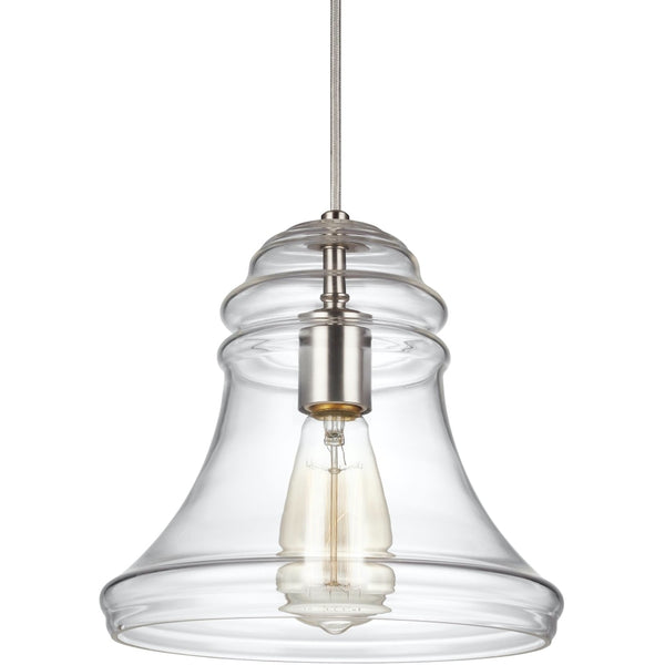 Doyle Satin Nickel Mini-Pendant - Mini-Pendants