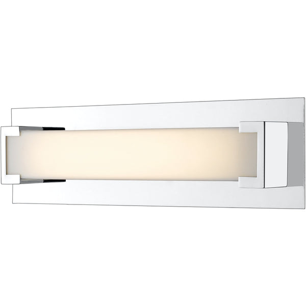 Elara Chrome LED Vanity - Bath & Vanity