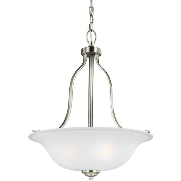 Emmons Brushed Nickel Pendant - Pendants