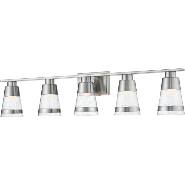 Ethos Brushed Nickel LED Vanity - Bath & Vanity