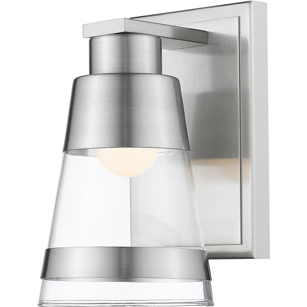 Ethos Brushed Nickel LED Wall Sconce - Wall Sconces