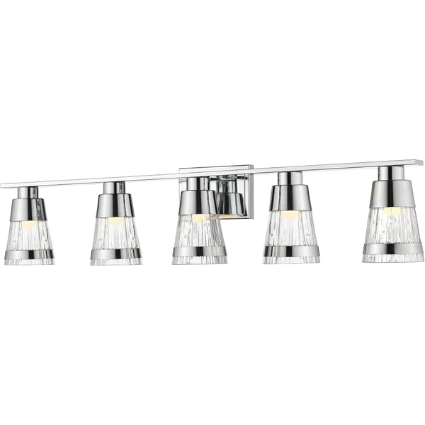 Ethos Chrome LED Vanity - Bath & Vanity