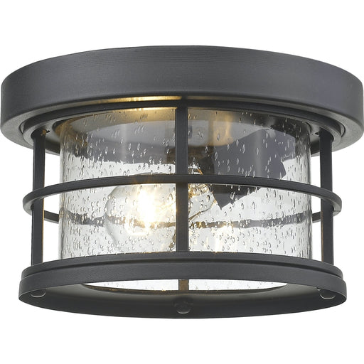 Exterior Additions Black Outdoor Flush Ceiling Mount Fixture - Outdoor Flush Ceiling Mount Fixture