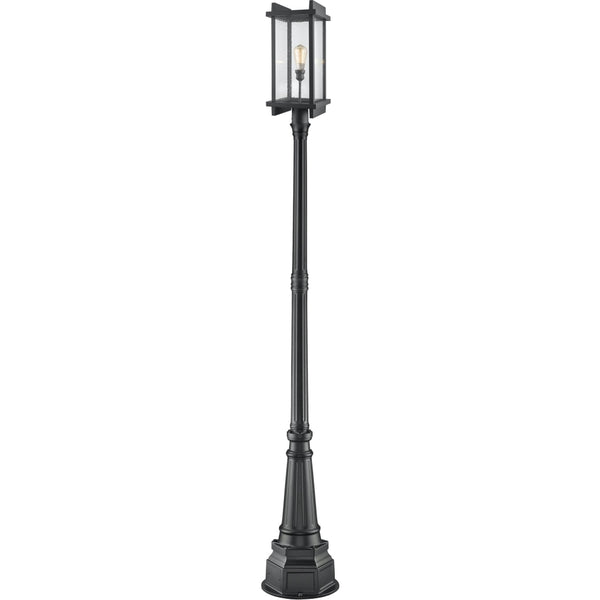 Fallow Black Outdoor Post Mounted Fixture - Outdoor Post Mounted Fixture