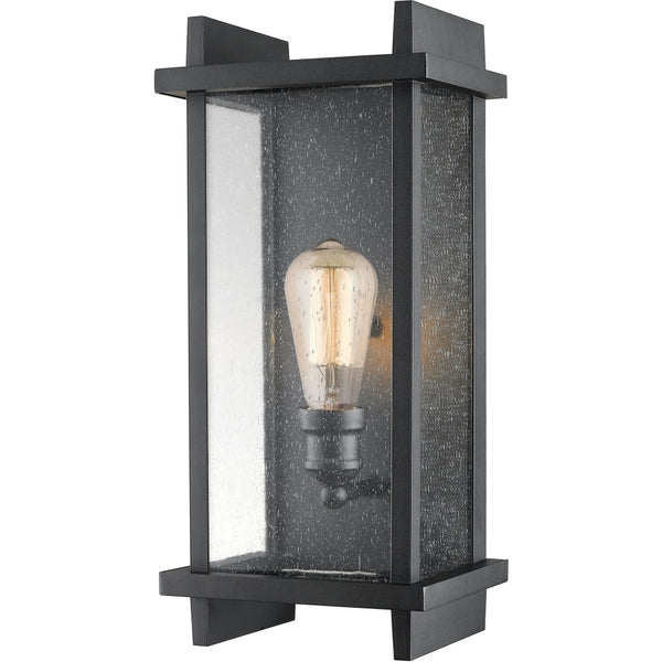 Fallow Black Outdoor Wall Sconce - Outdoor Wall Sconce