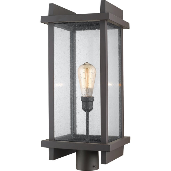 Fallow Deep Bronze Outdoor Post Mount Fixture - Outdoor Post Mount Fixture