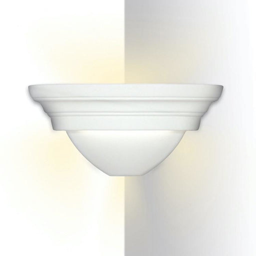 Formentera Ibiza Bisque Corner Wall Sconce - Corner Wall Sconce