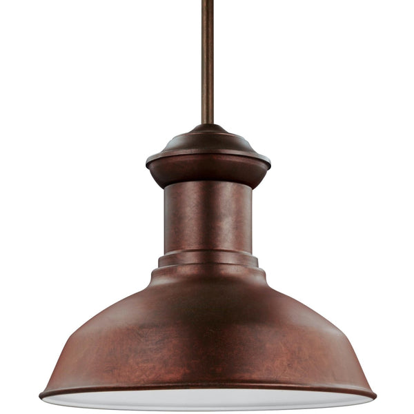 Fredricksburg Weathered Copper LED Outdoor Pendant - Outdoor Pendant