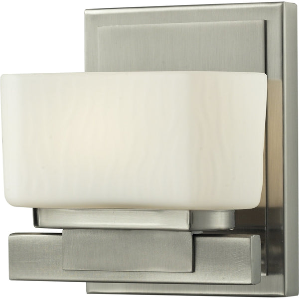 Gaia Brushed Nickel Wall Sconce - Wall Sconces