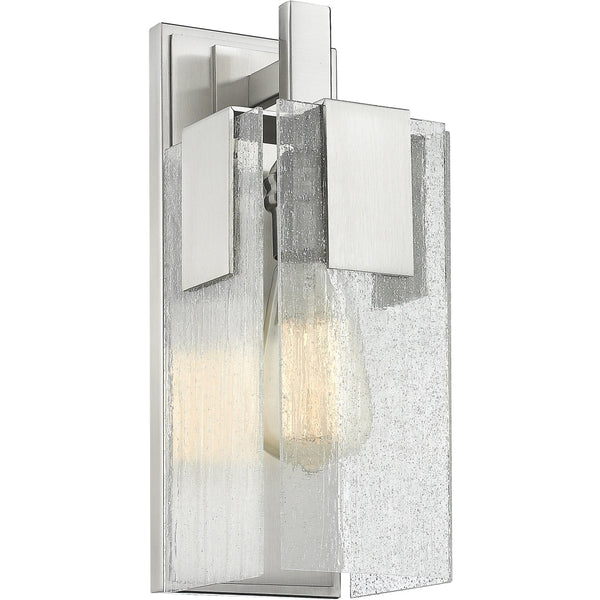 Gantt Brushed Nickel Wall Sconce - Wall Sconces