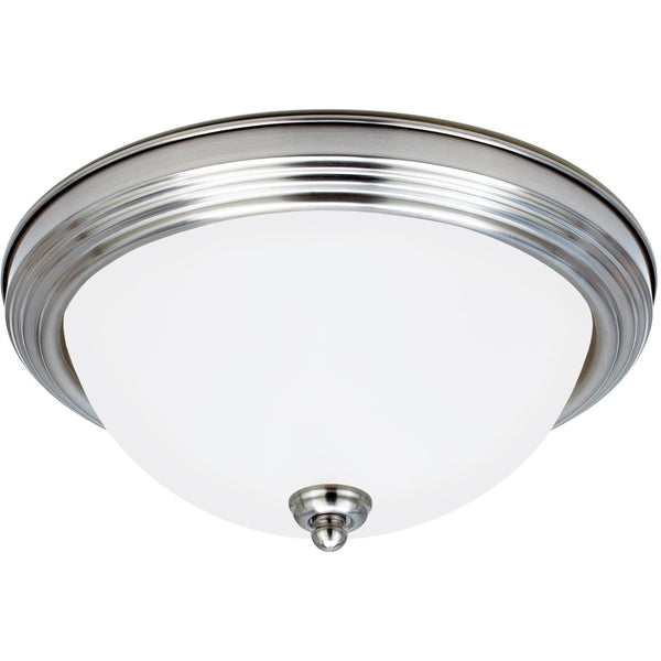 Geary Brushed Nickel Flush Mount - Flushmounts