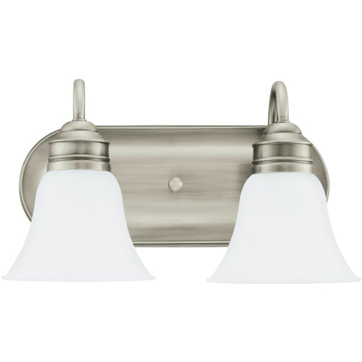 Gladstone Antique Brushed Nickel LED Vanity Fixture - Bath & Vanity