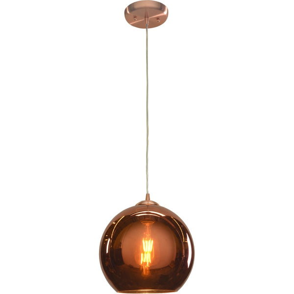 Glow Brushed Copper Pendant - Pendants