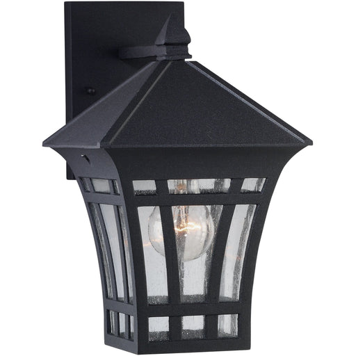 Herrington Black Outdoor Wall Lantern - Outdoor Wall Sconce