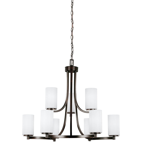 Hettinger Burnt Sienna Chandelier - Chandeliers