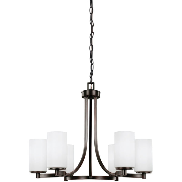 Hettinger Burnt Sienna LED Chandelier - Chandeliers