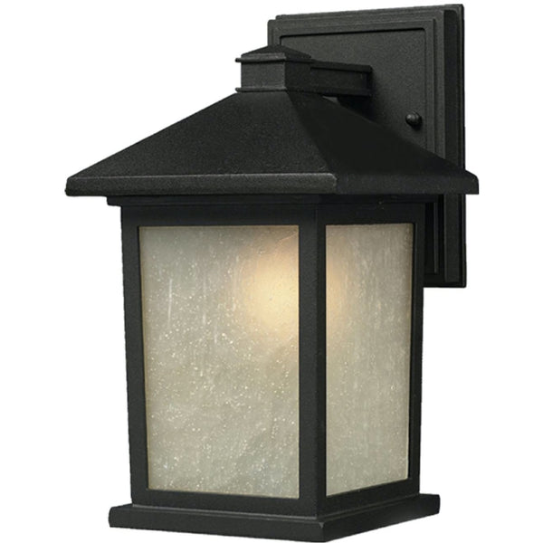 Holbrook Black Outdoor Wall Sconce - Outdoor Wall Sconce