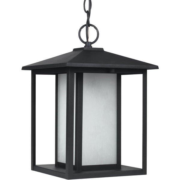 Hunnington Black LED Outdoor Pendant - Outdoor Pendant