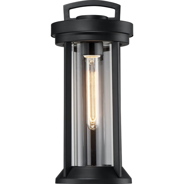 Huron Aged Bronze Outdoor Wall Lantern - Outdoor Wall Lantern
