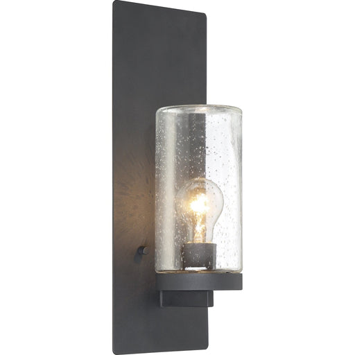 Indie Textured Black Wall Sconce - Wall Sconce