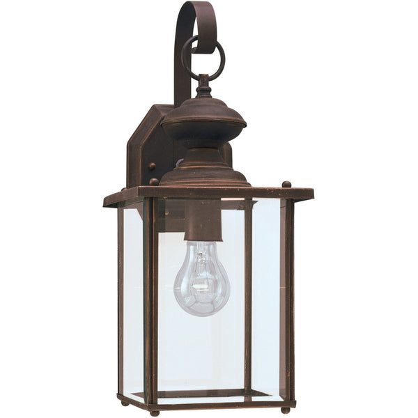 Jamestowne Antique Bronze Outdoor Wall Lantern - Outdoor Wall Sconce